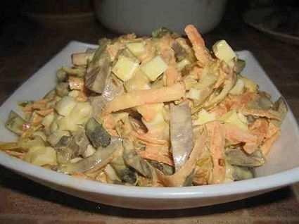 салат с сердцем свиным рецепты с фото простые