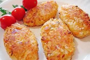 Рисовые котлетки пошаговый рецепт с фото